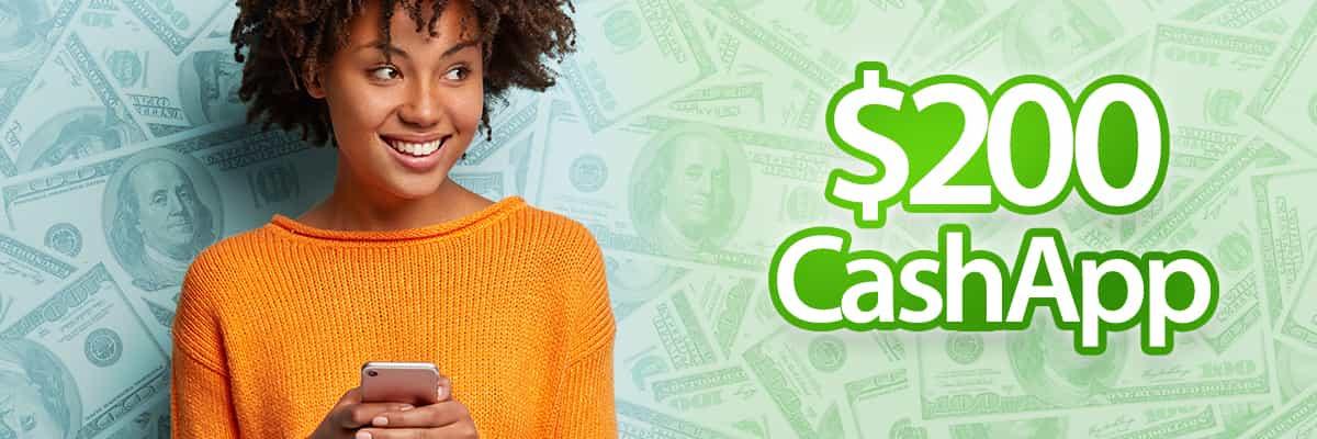 CashApp $200