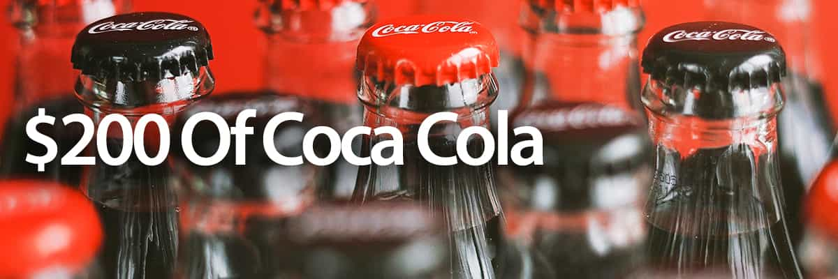 Coca Cola $200