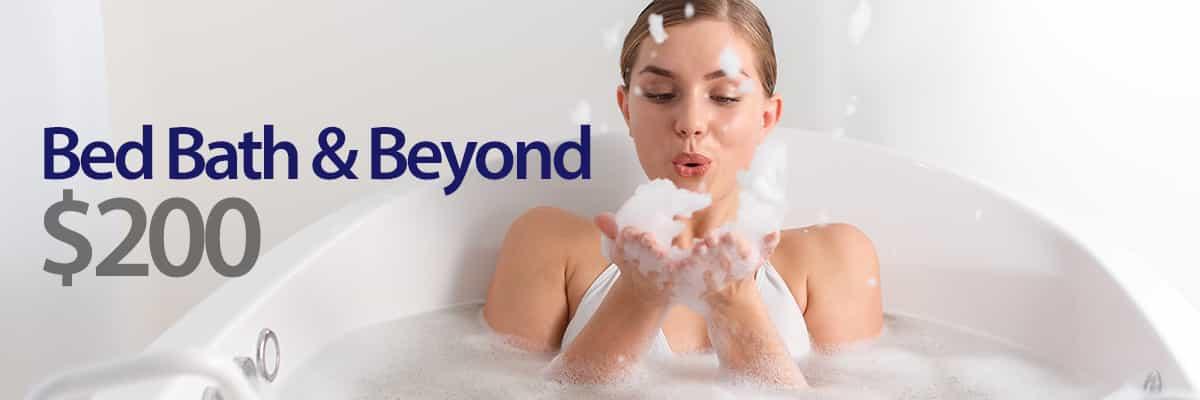 $200 Bed, Bath & Beyond!