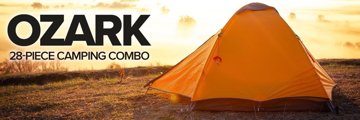 Ozark Trail Camping Combo Set