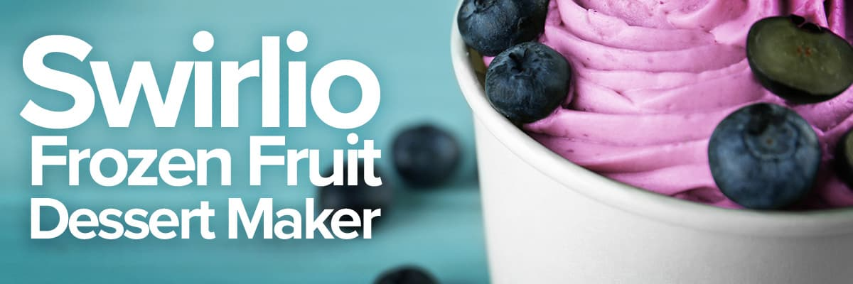 Swirlo Frozen Fruit Dessert Maker